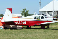 N5801N @ OSH - Mooney M20J, c/n: 24-1606 at 2011 Oshkosh