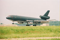 86-0032 @ KGSB - KC-10 taking off from Seymour Johnson AFB, NC. - by Gregg Stansbery