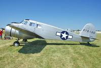 N88878 @ OSH - 1943 Cessna T-50, c/n: 4121 at 2011 Oshkosh - by Terry Fletcher
