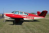 N3041W @ FLD - 1968 Beech V35A, c/n: D-8824 at Fond Du Lac