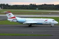 OE-LFK @ EDDL - Tyrolean Airways, Fokker F70, CN: 11555/0312, Name: Krems - by Air-Micha