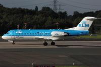 PH-KZG @ EDDL - KLM Cityhopper, Fokker F70, CN: 11578 - by Air-Micha