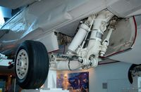 160780 - Main Landing Gear on the McDonnell Douglas F-18 High Angle-of-Attack (Alpha) Research Vehicle HARV at the Virginia Air & Space Center, Hampton, VA - by scotch-canadian