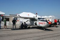 N446TF @ LAL - O-2 Skymaster - by Florida Metal