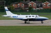 N69LP @ EGNR - backtracking RW04 - by Chris Hall