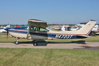 N4723T @ FLD - 1981 Cessna TR182, c/n: R18201744 at Fond Du Lac