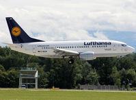 D-ABJA @ LSGG - Landing rwy 23 - by Shunn311