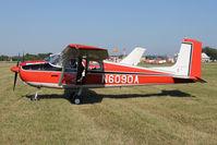 N6090A @ FLD - 1956 Cessna 172, c/n: 28690 at Fond Du Lac