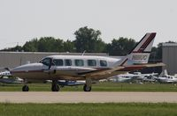 N111UC @ KOSH - Piper PA-31-350 - by Mark Pasqualino
