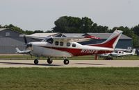 N731FE @ KOSH - Cessna P210N - by Mark Pasqualino