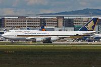 9V-SPJ @ EDDF - Boeing 747-412 - by Jerzy Maciaszek