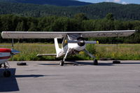 LN-PZL @ ENNO - PZL Wilga 80 parked at Notodden airfield, Norway - by Henk van Capelle