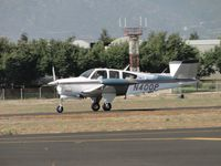N400P @ POC - After stopping at Howard Aviation, rolling westbound on runway 26L - by Helicopterfriend