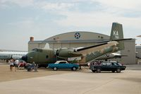 63-9760 @ DOV - 1963 De Havilland Canada C-7B Caribou and Ford Falcons at the Air Mobility Command Museum, Dover AFB, DE - by scotch-canadian