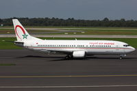 CN-RMX @ EDDL - Royal Air Maroc, Boeing 737-4B6, CN: 26526/2219 - by Air-Micha
