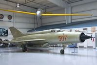 507 - Mikoyan i Gurevich MiG-21PF FISHBED-D at the CAF Arizona Wing Museum, Mesa AZ - by Ingo Warnecke