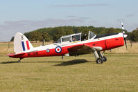 G-BYHL - Guest at the 80th Anniversary De Havilland Moth Club International Rally at Belvoir Castle , United Kingdom