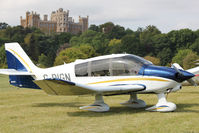 G-DIGN - Guest at the 80th Anniversary De Havilland Moth Club International Rally at Belvoir Castle , United Kingdom