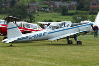 G-AMUF - Guest at the 80th Anniversary De Havilland Moth Club International Rally at Belvoir Castle , United Kingdom