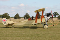 G-AWYI - Guest at the 80th Anniversary De Havilland Moth Club International Rally at Belvoir Castle , United Kingdom
