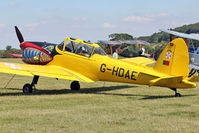 G-HDAE - Guest at the 80th Anniversary De Havilland Moth Club International Rally at Belvoir Castle , United Kingdom
