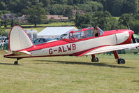 G-ALWB - Guest at the 80th Anniversary De Havilland Moth Club International Rally at Belvoir Castle , United Kingdom