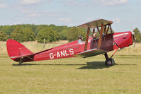 G-ANLS - Participant at the 80th Anniversary De Havilland Moth Club International Rally at Belvoir Castle , United Kingdom