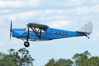 G-AAZP - Participant at the 80th Anniversary De Havilland Moth Club International Rally at Belvoir Castle , United Kingdom