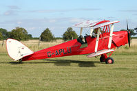 G-APLU - Participant at the 80th Anniversary De Havilland Moth Club International Rally at Belvoir Castle , United Kingdom