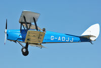 G-ADJJ - Participant at the 80th Anniversary De Havilland Moth Club International Rally at Belvoir Castle , United Kingdom