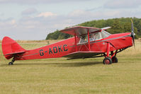 G-ADKC - Participant at the 80th Anniversary De Havilland Moth Club International Rally at Belvoir Castle , United Kingdom