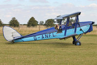 G-ANFL - Participant at the 80th Anniversary De Havilland Moth Club International Rally at Belvoir Castle , United Kingdom