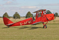 G-AFWI - Participant at the 80th Anniversary De Havilland Moth Club International Rally at Belvoir Castle , United Kingdom