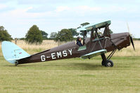G-EMSY - Participant at the 80th Anniversary De Havilland Moth Club International Rally at Belvoir Castle , United Kingdom
