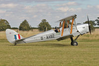 G-AXBZ - Participant at the 80th Anniversary De Havilland Moth Club International Rally at Belvoir Castle , United Kingdom