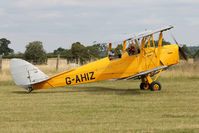 G-AHIZ - Participant at the 80th Anniversary De Havilland Moth Club International Rally at Belvoir Castle , United Kingdom
