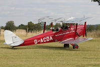 G-ACDA - Participant at the 80th Anniversary De Havilland Moth Club International Rally at Belvoir Castle , United Kingdom