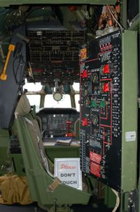 53-230 @ DOV - Boeing KC-97L Stratotanker Fuel Transfer Control Panel at the Air Mobility Command Museum, Dover AFB, Dover, DE - by scotch-canadian