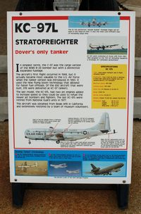 53-230 @ DOV - Information Plaque for the Boeing KC-97L Stratotanker at the Air Mobility Command Museum, Dover AFB, DE - by scotch-canadian