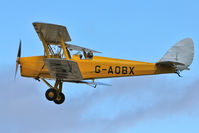 G-AOBX - Participant at the 80th Anniversary De Havilland Moth Club International Rally at Belvoir Castle , United Kingdom