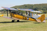 G-ARAZ - Participant at the 80th Anniversary De Havilland Moth Club International Rally at Belvoir Castle , United Kingdom