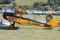 G-AAMY - Participant at the 80th Anniversary De Havilland Moth Club International Rally at Belvoir Castle , United Kingdom