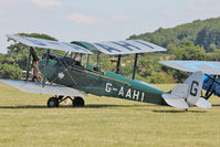 G-AAHI - Participant at the 80th Anniversary De Havilland Moth Club International Rally at Belvoir Castle , United Kingdom