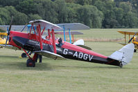 G-ADGV - Participant at the 80th Anniversary De Havilland Moth Club International Rally at Belvoir Castle , United Kingdom