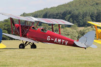G-AMTV - Participant at the 80th Anniversary De Havilland Moth Club International Rally at Belvoir Castle , United Kingdom