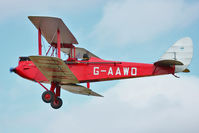 G-AAWO - Participant at the 80th Anniversary De Havilland Moth Club International Rally at Belvoir Castle , United Kingdom