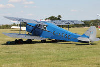 G-AESE - Participant at the 80th Anniversary De Havilland Moth Club International Rally at Belvoir Castle , United Kingdom