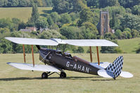 G-AHAN - Participant at the 80th Anniversary De Havilland Moth Club International Rally at Belvoir Castle , United Kingdom