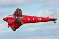 G-AEDU - Participant at the 80th Anniversary De Havilland Moth Club International Rally at Belvoir Castle , United Kingdom