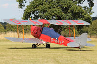 G-AJVE - Participant at the 80th Anniversary De Havilland Moth Club International Rally at Belvoir Castle , United Kingdom